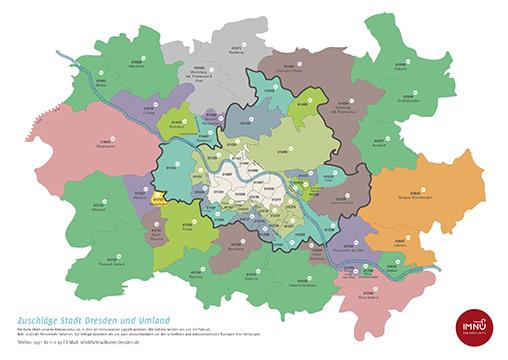 Zuschlagskarte Kurierdienst Dresden